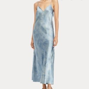 Ralph Lauren Tie-Dye silk maxi dress